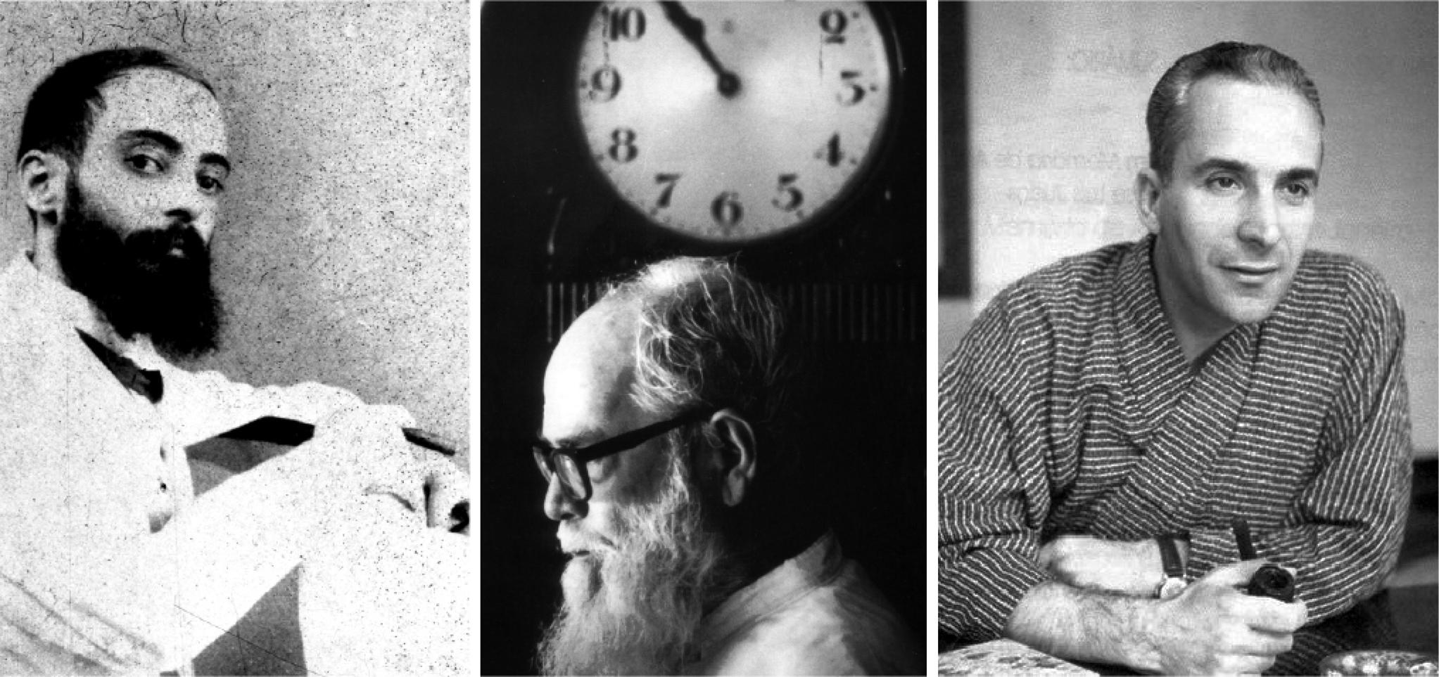 Três amigos, Camilo Pessanha, Padre Manuel Teixeira e Armando Martins Janeira