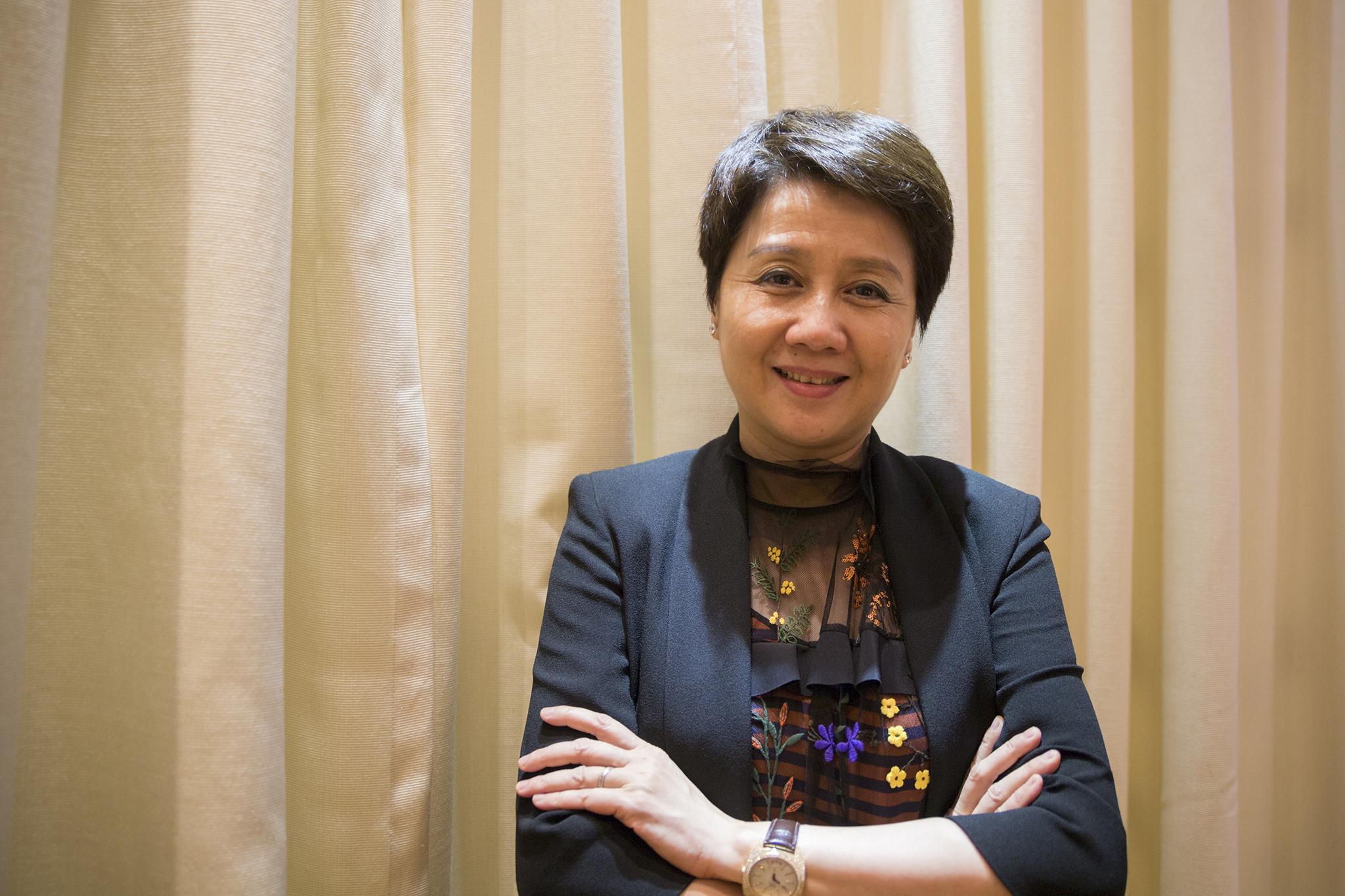 Angela Leong é a deputada com mais património
