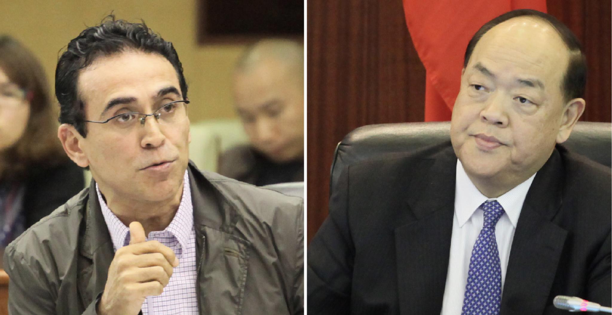 Pereira Coutinho ameaça levar Ho Iat Seng a tribunal