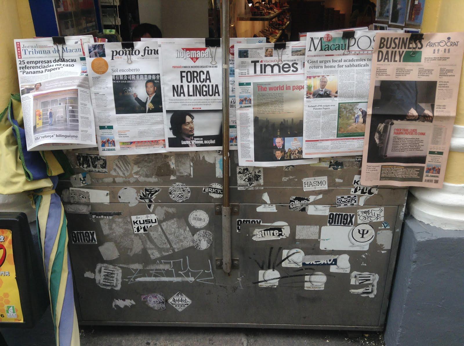 Académico e ex-jornalista elogia independência da imprensa local