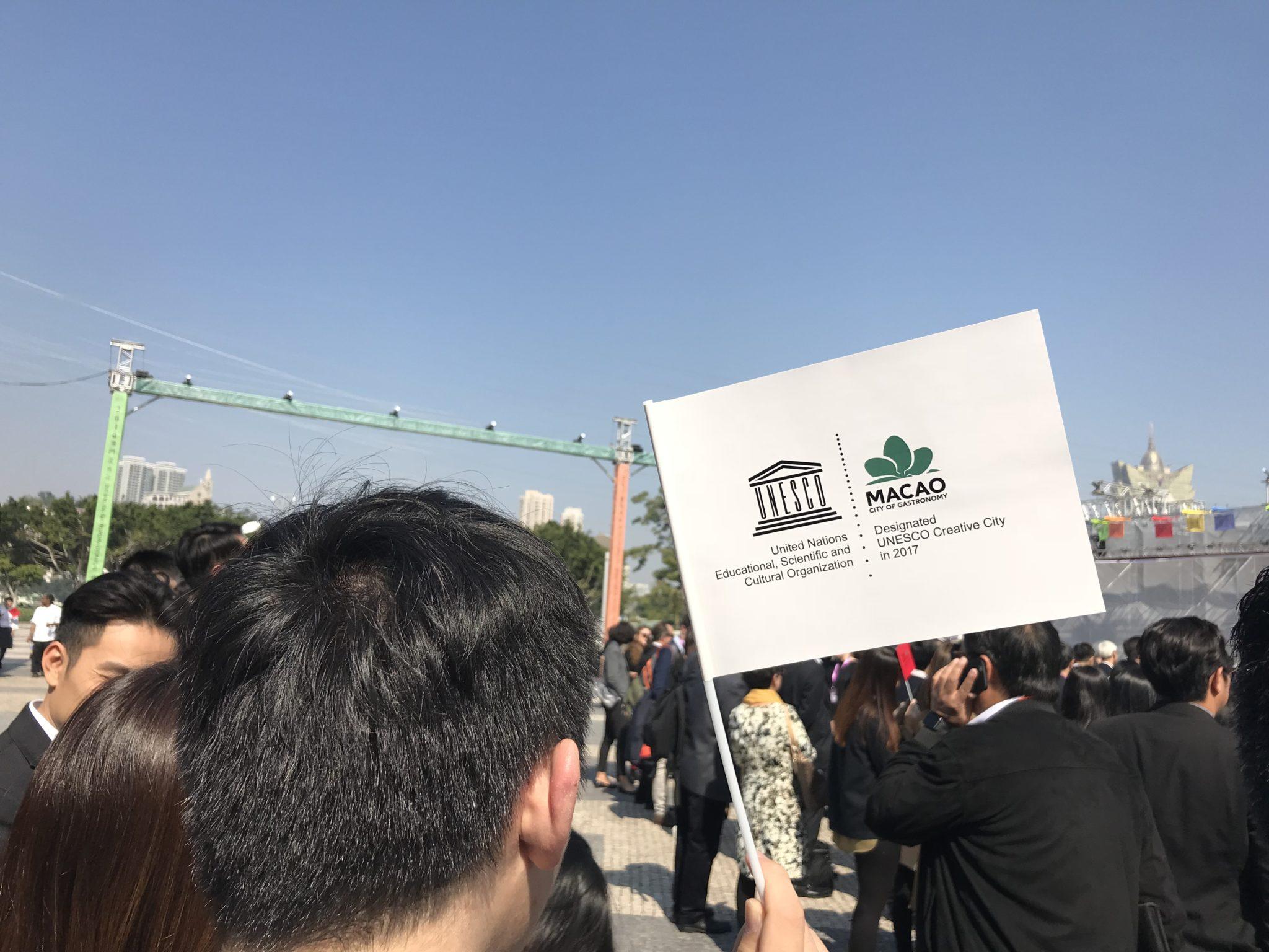 'Chefs' de cidades criativas da UNESCO juntos em demonstração culinária em Macau