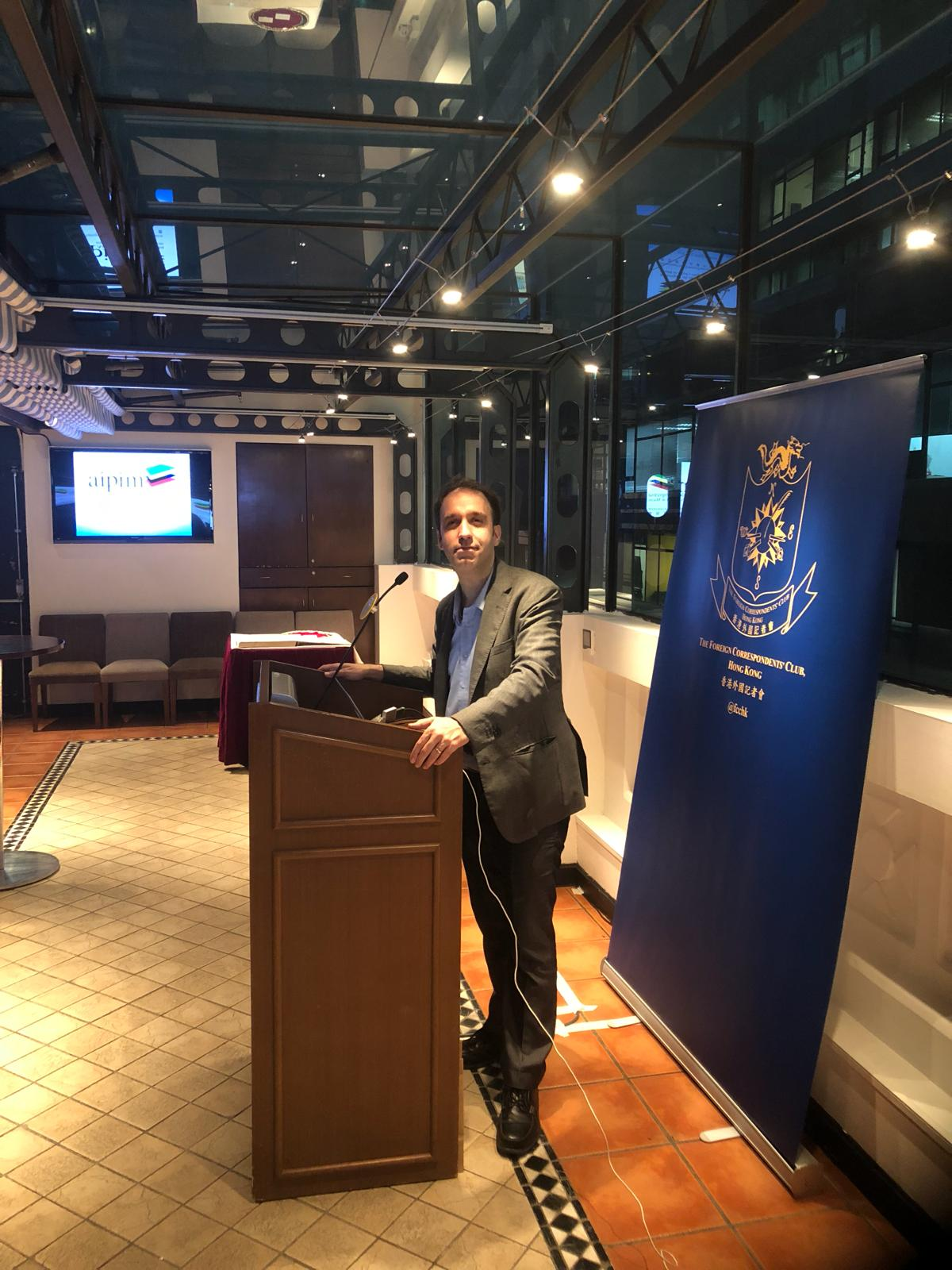 Hong Kong   Presidente da AIPIM fala da imprensa na RAEM