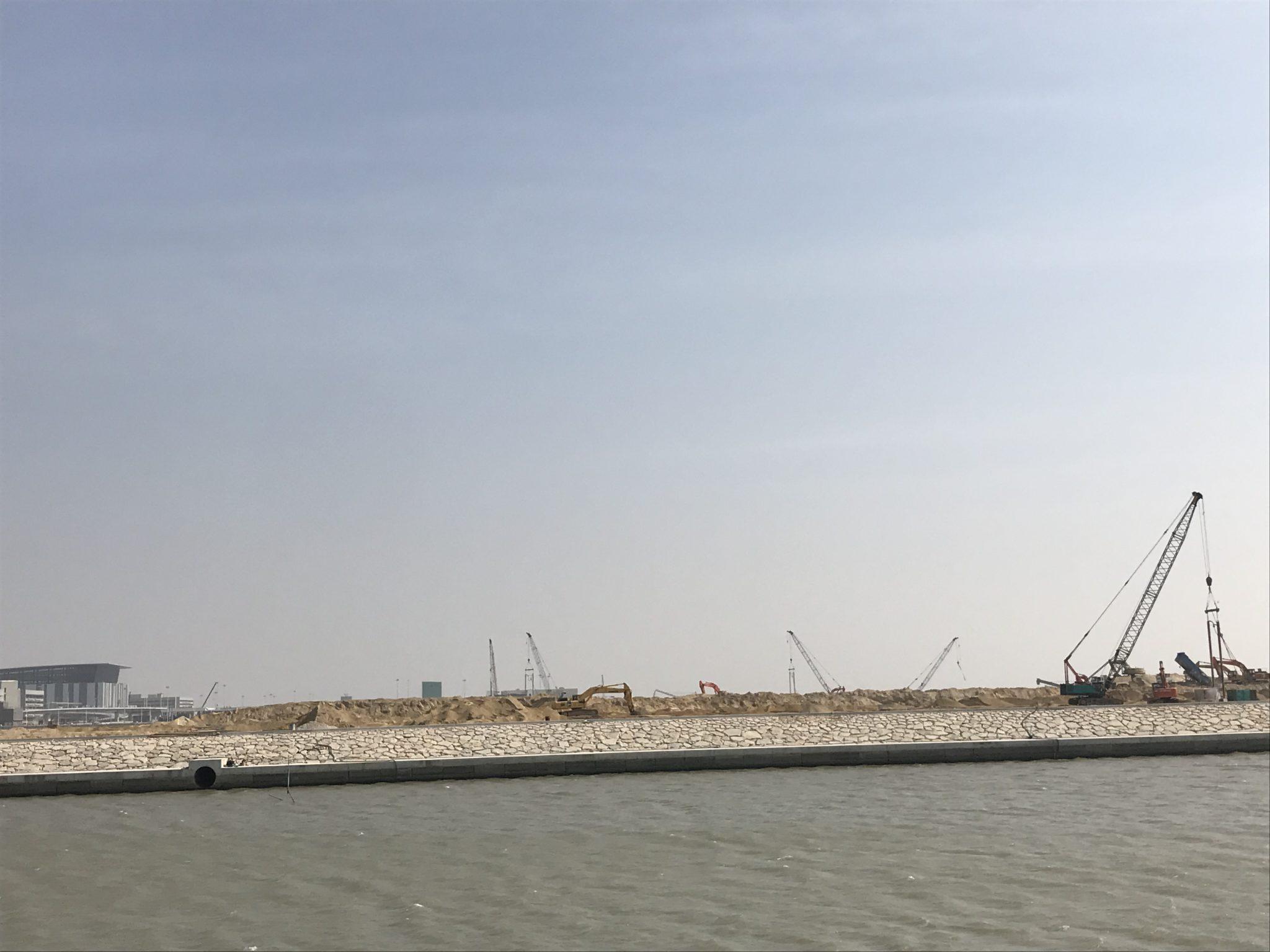 Novos aterros | Governo assinou contrato para obras na zona C