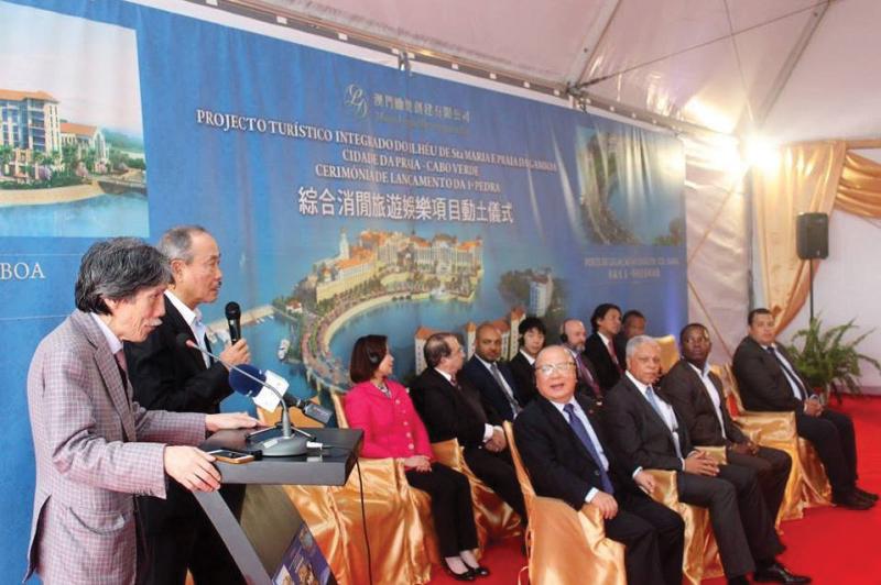 David Chow promete investir mais em Cabo Verde