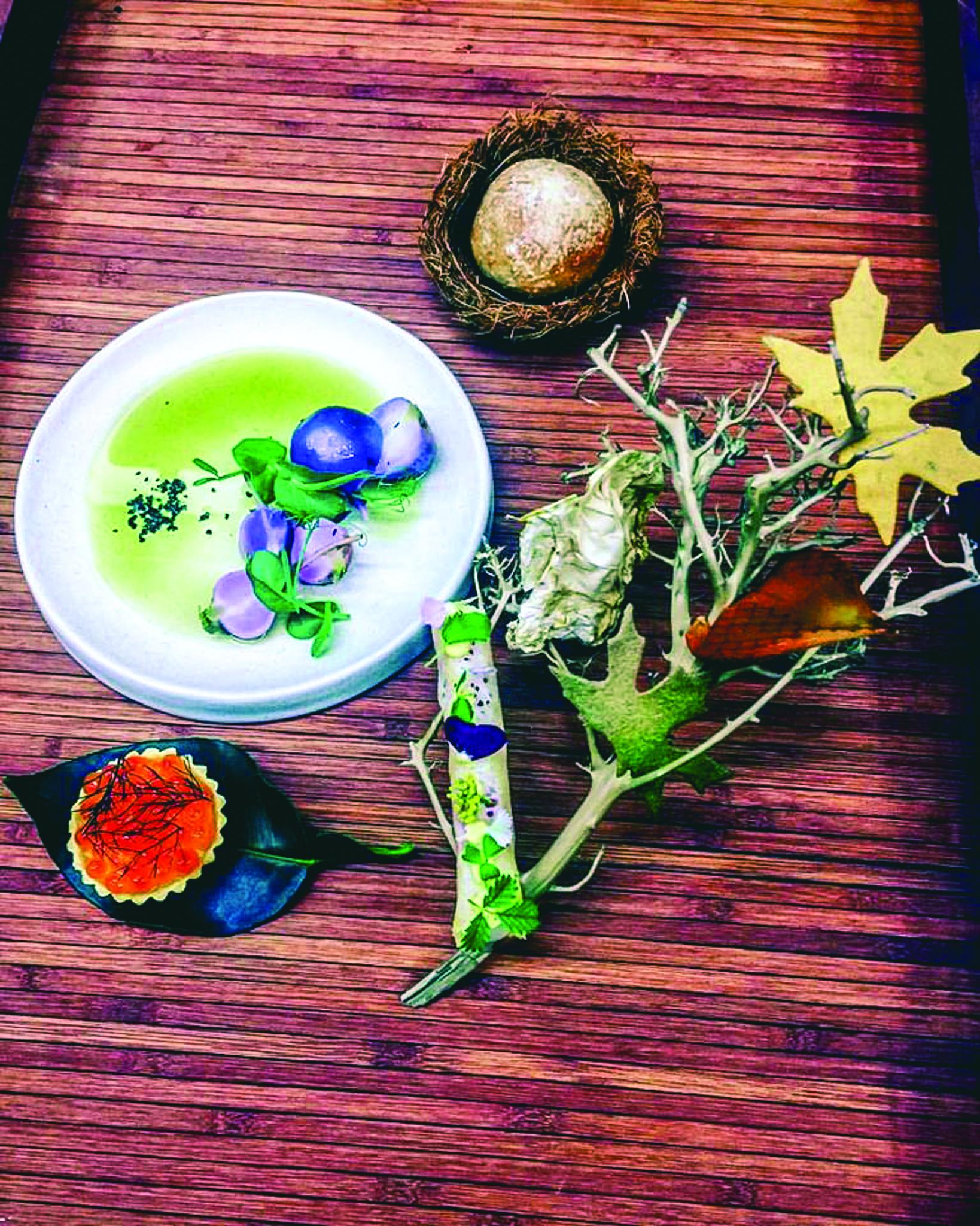 Roots Macau, restaurante de fusão | Katie McCann, relações públicas