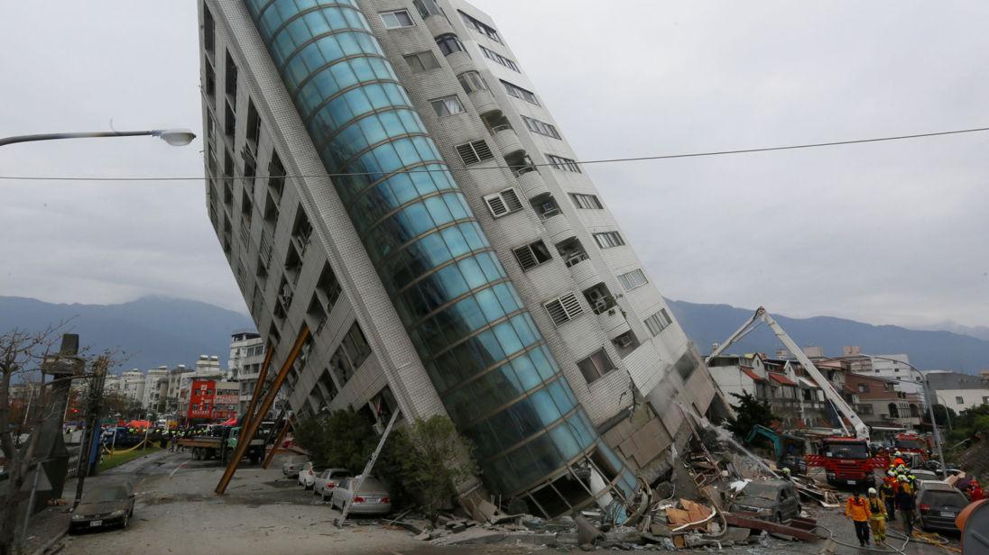 Sismo em Taiwan faz pelo menos quatro mortos