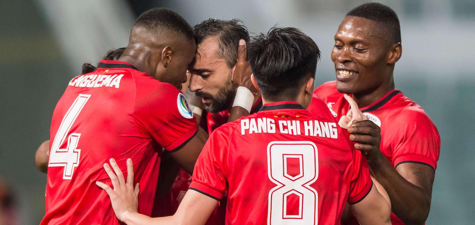 Futebol   Benfica de Macau foi à Coreia do Norte vencer por 3-2