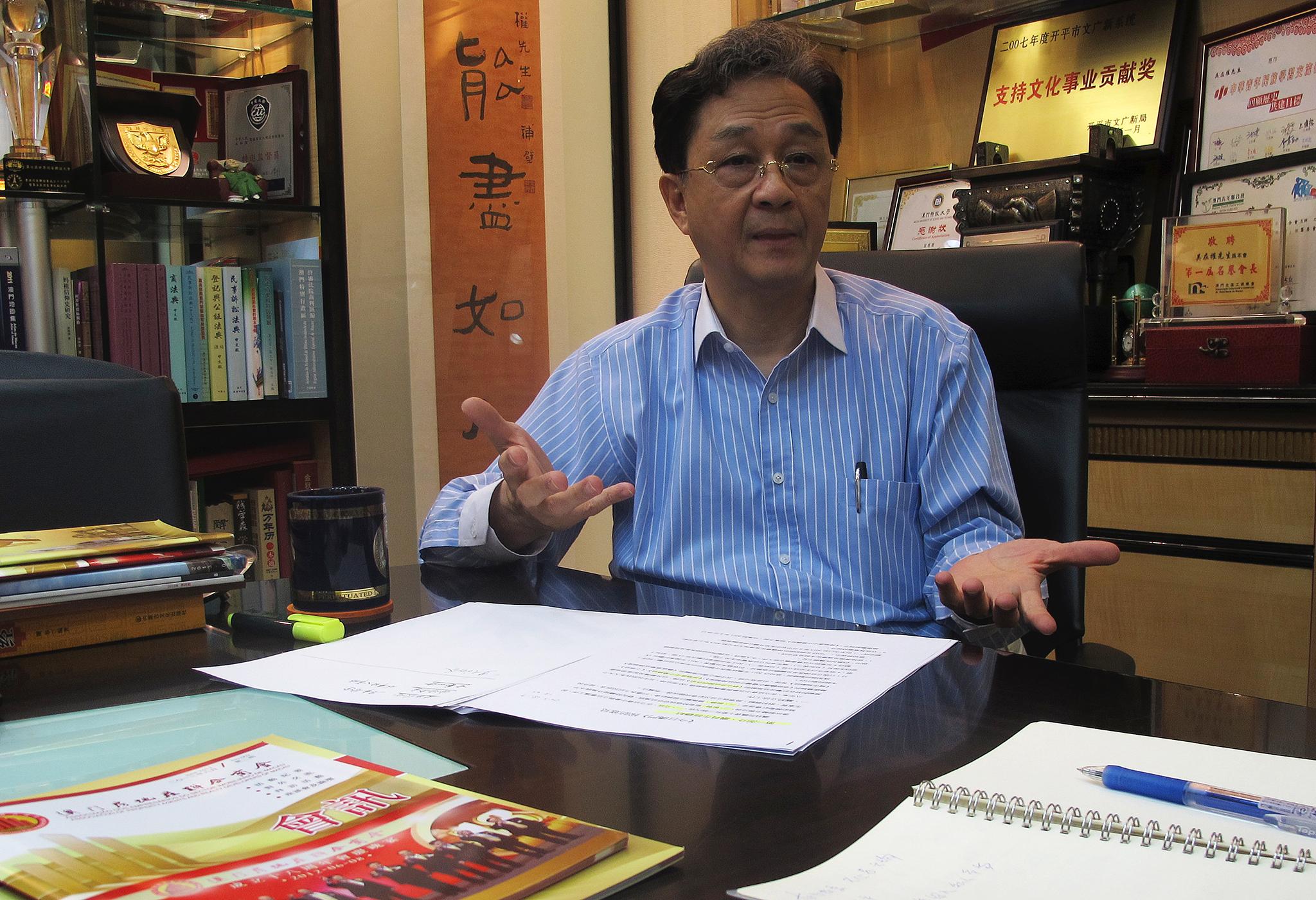 Terrenos | Ung Choi Kun acha que o Governo receia impacto no mercado imobiliário