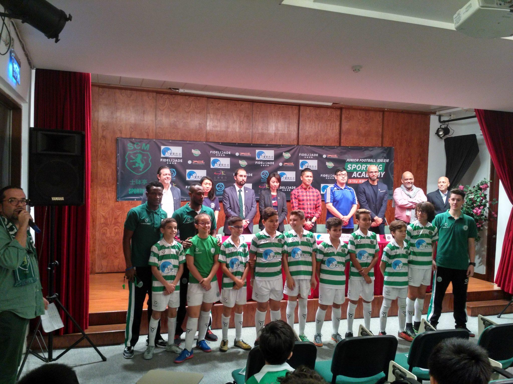 Academia do Sporting de Macau arranca com três equipas e 58 atletas