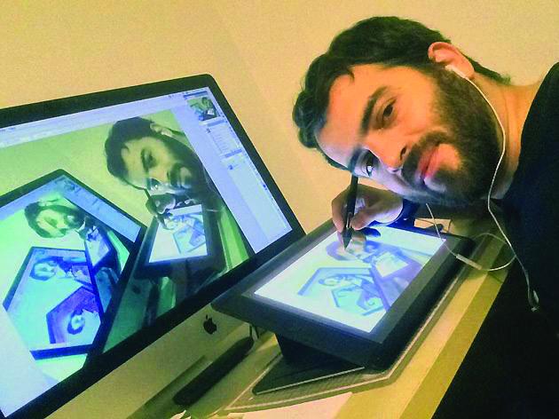 """Cartoonista Rodrigo de Matos inaugura """"Punacotheca"""" na quinta-feira"""