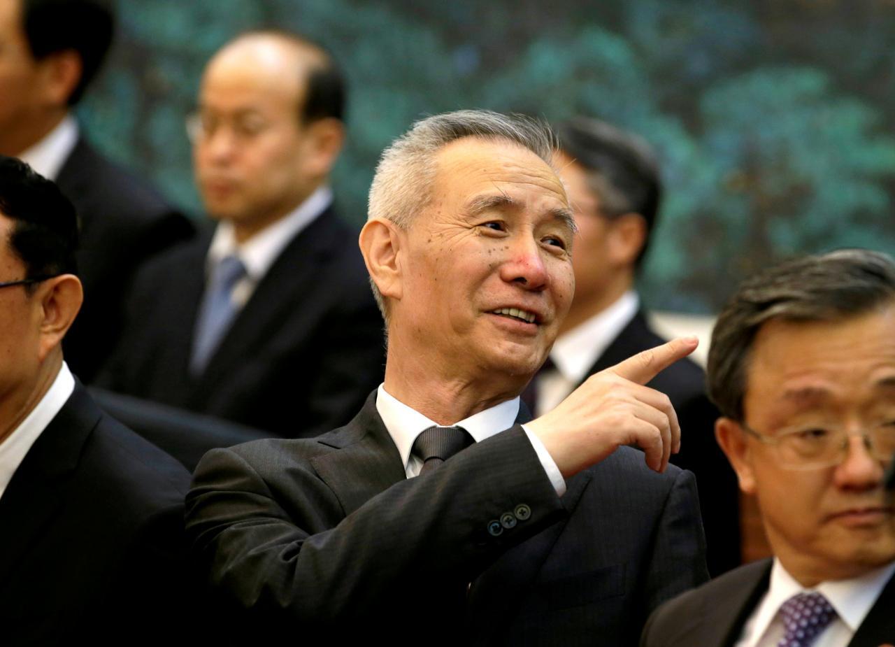 Guerra Comercial   Liu He vai a Washington assinar acordo parcial