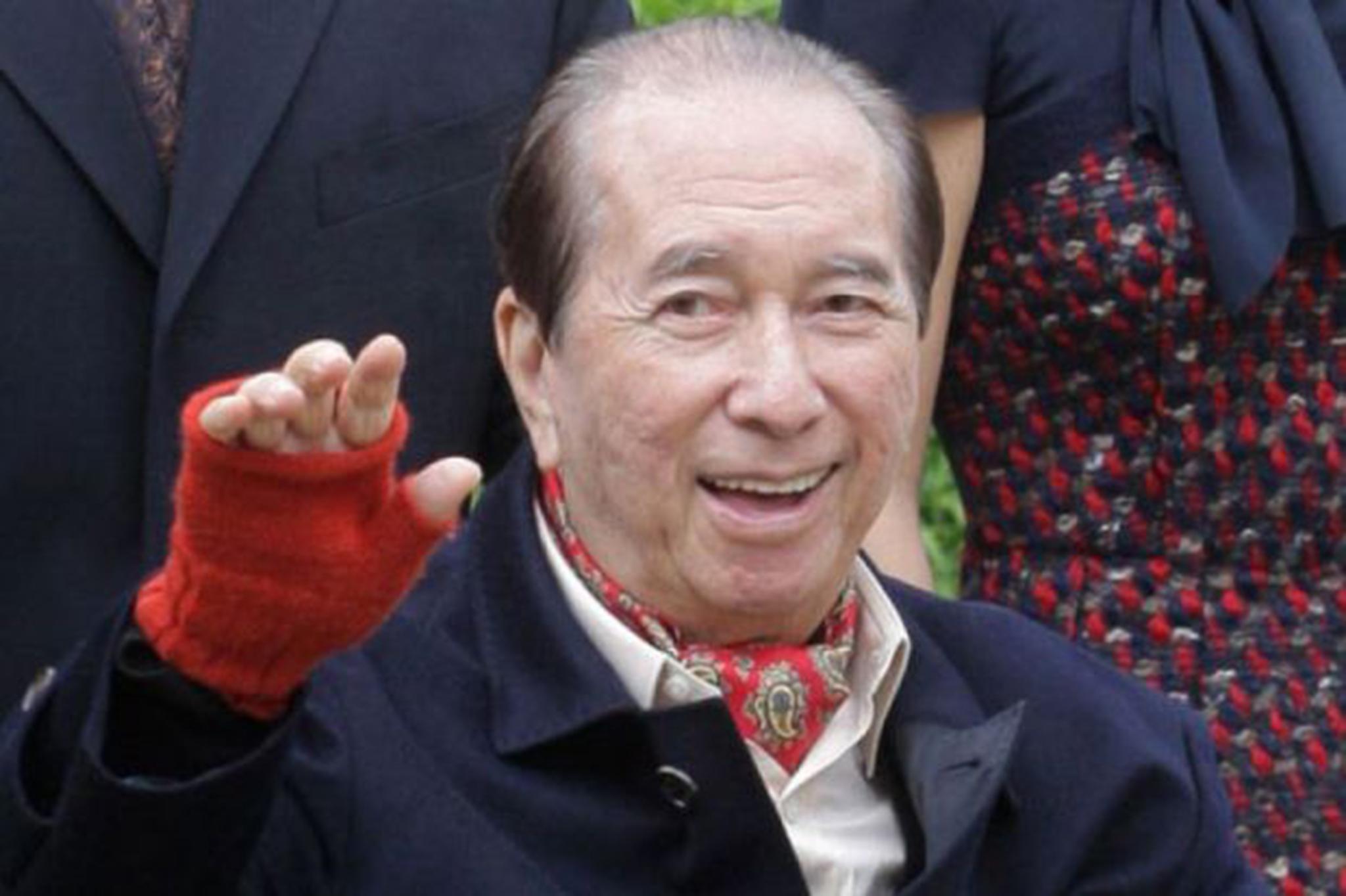 Jogo | Retirada de Stanley Ho da SJM vai acontecer em Junho
