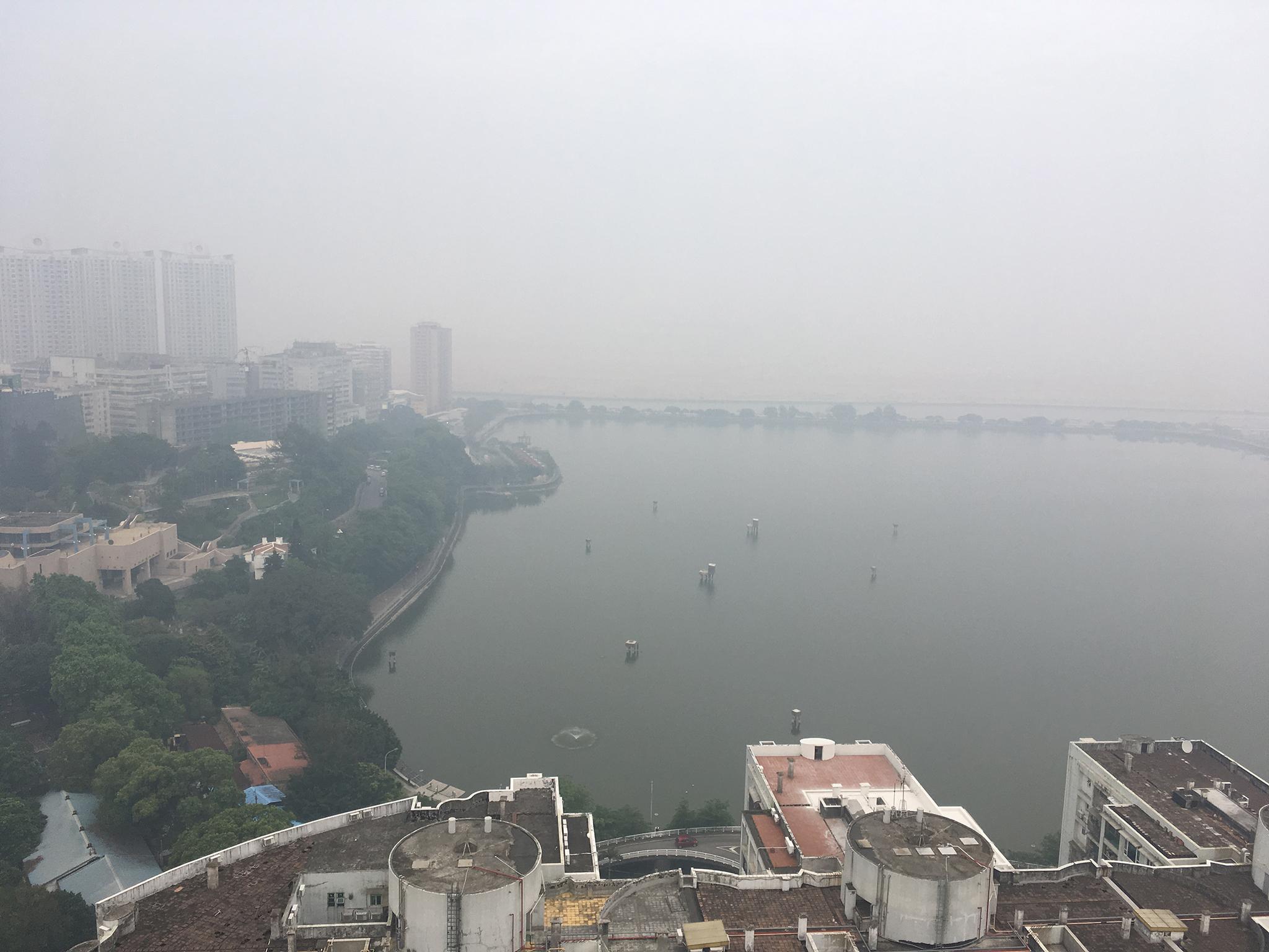 Subiu o número de dias com qualidade do ar insalubre em 2017