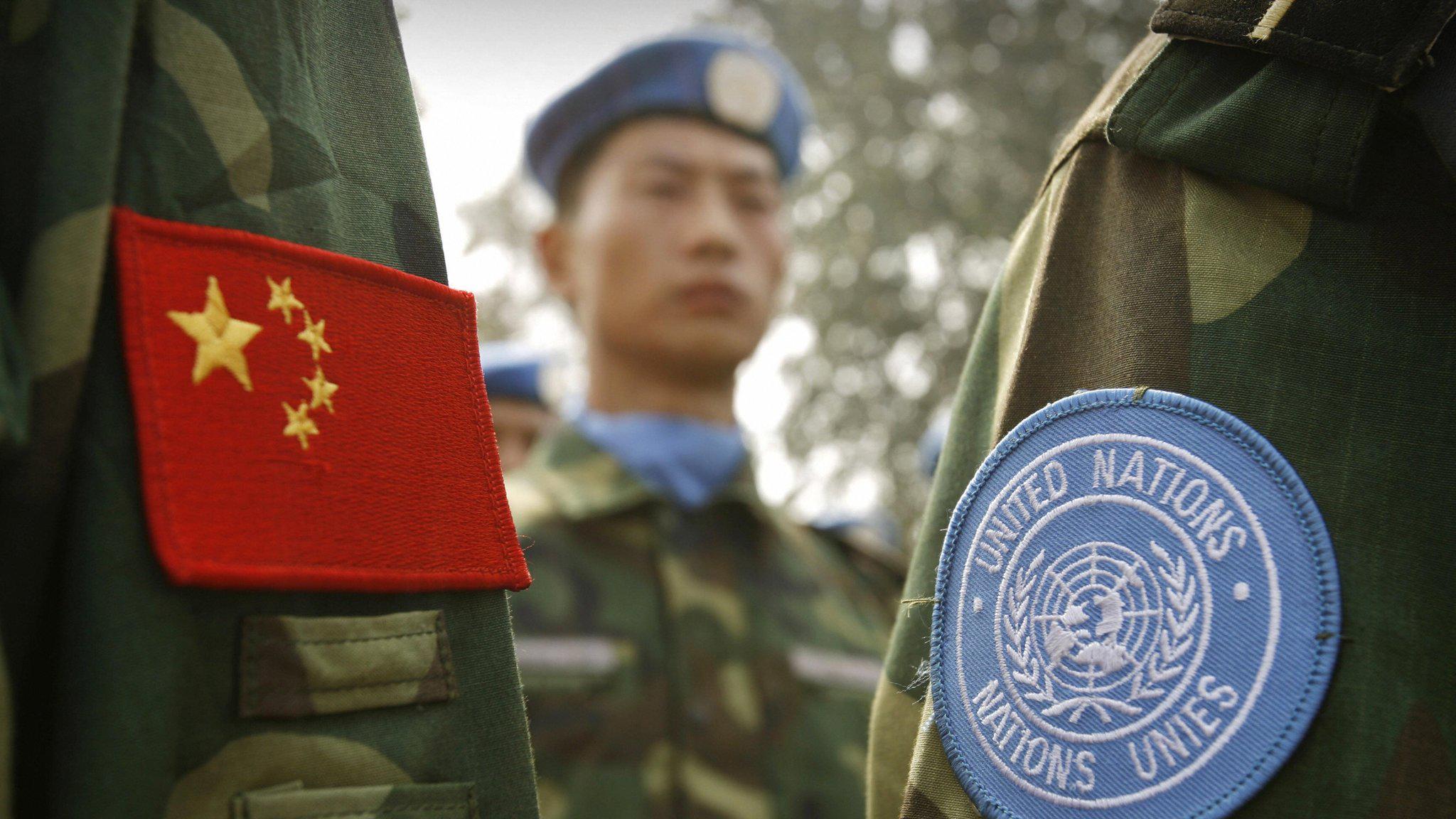 Pequim envia 395 forças da paz para missão da ONU no Mali