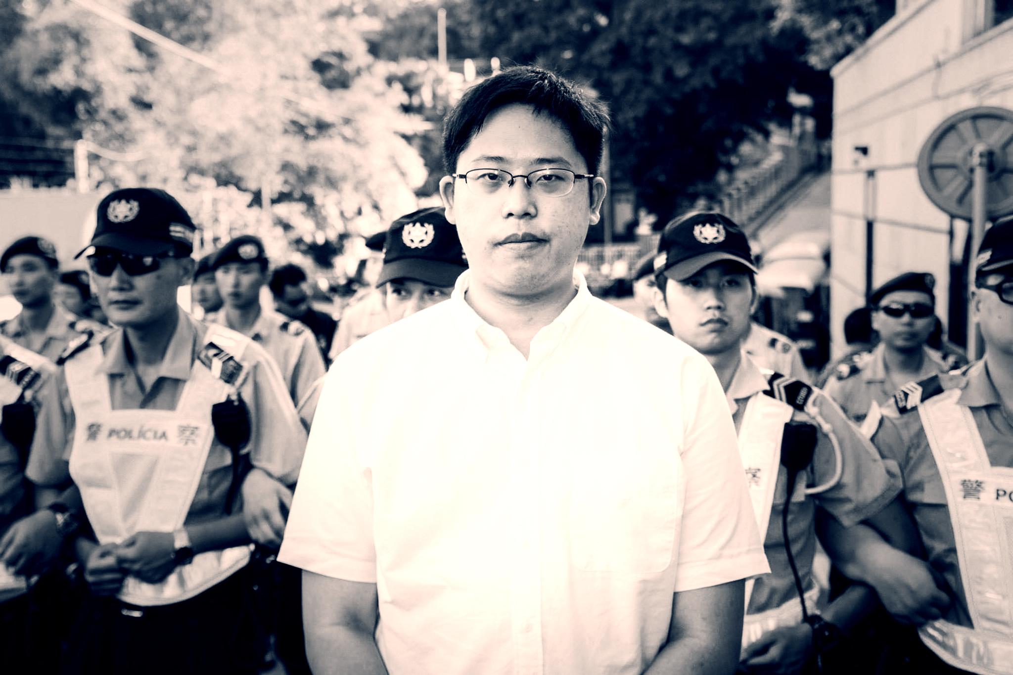 Jason Chao processado por docente da Universidade de Macau