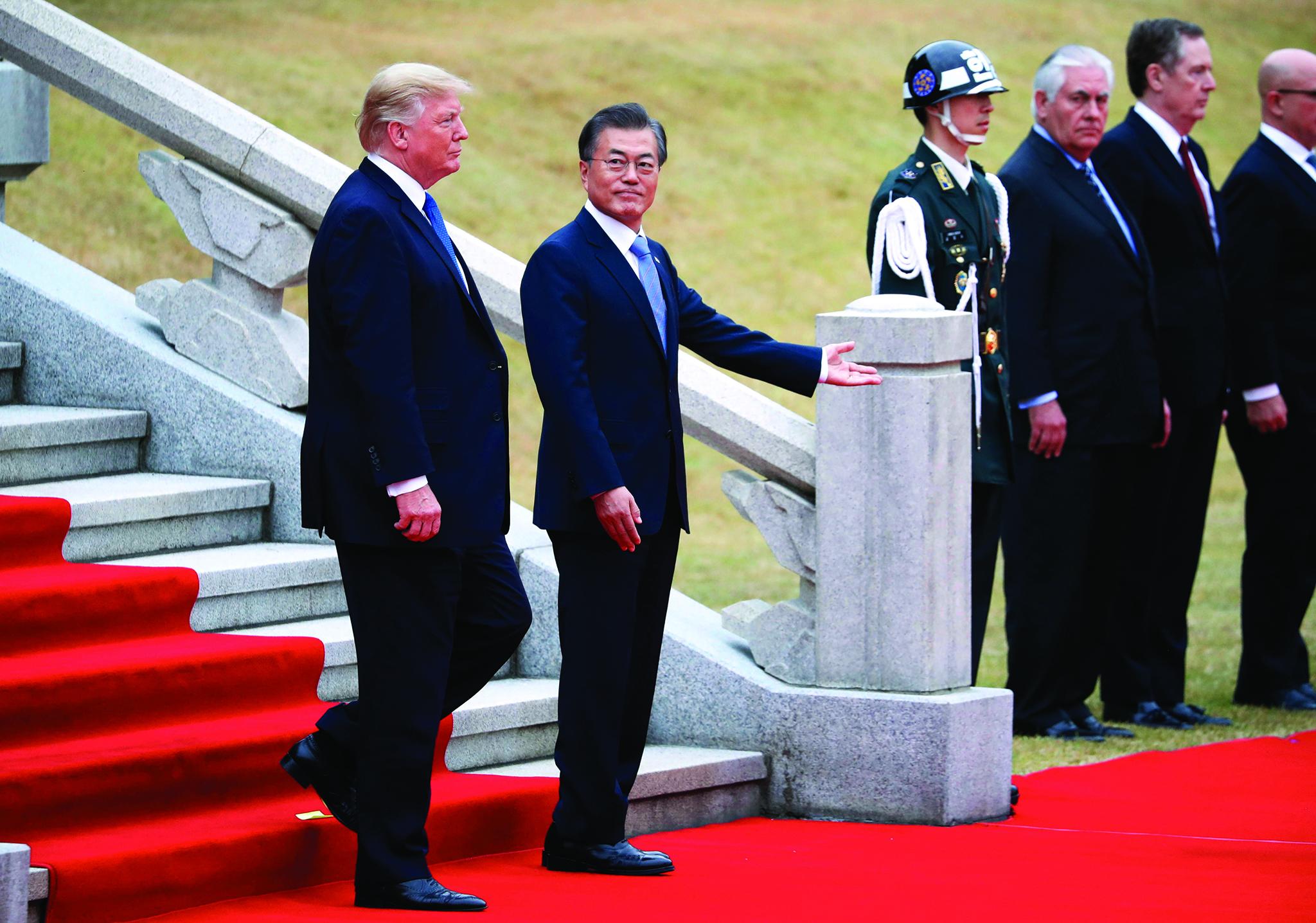 Coreia do Sul e EUA vão continuar esforços para realizar cimeira