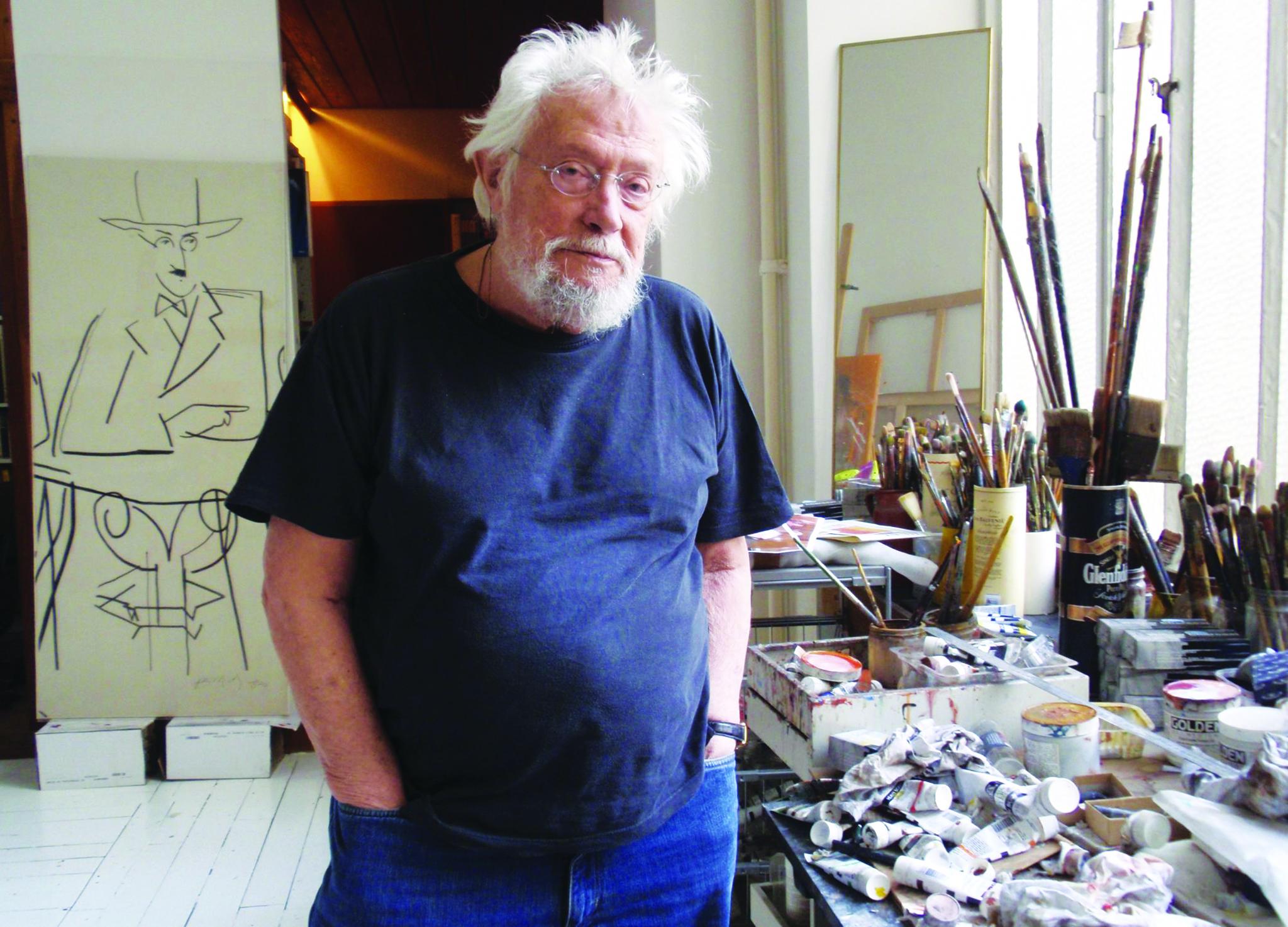 Óbito | O artista plástico Júlio Pomar morreu aos 92 anos em Lisboa