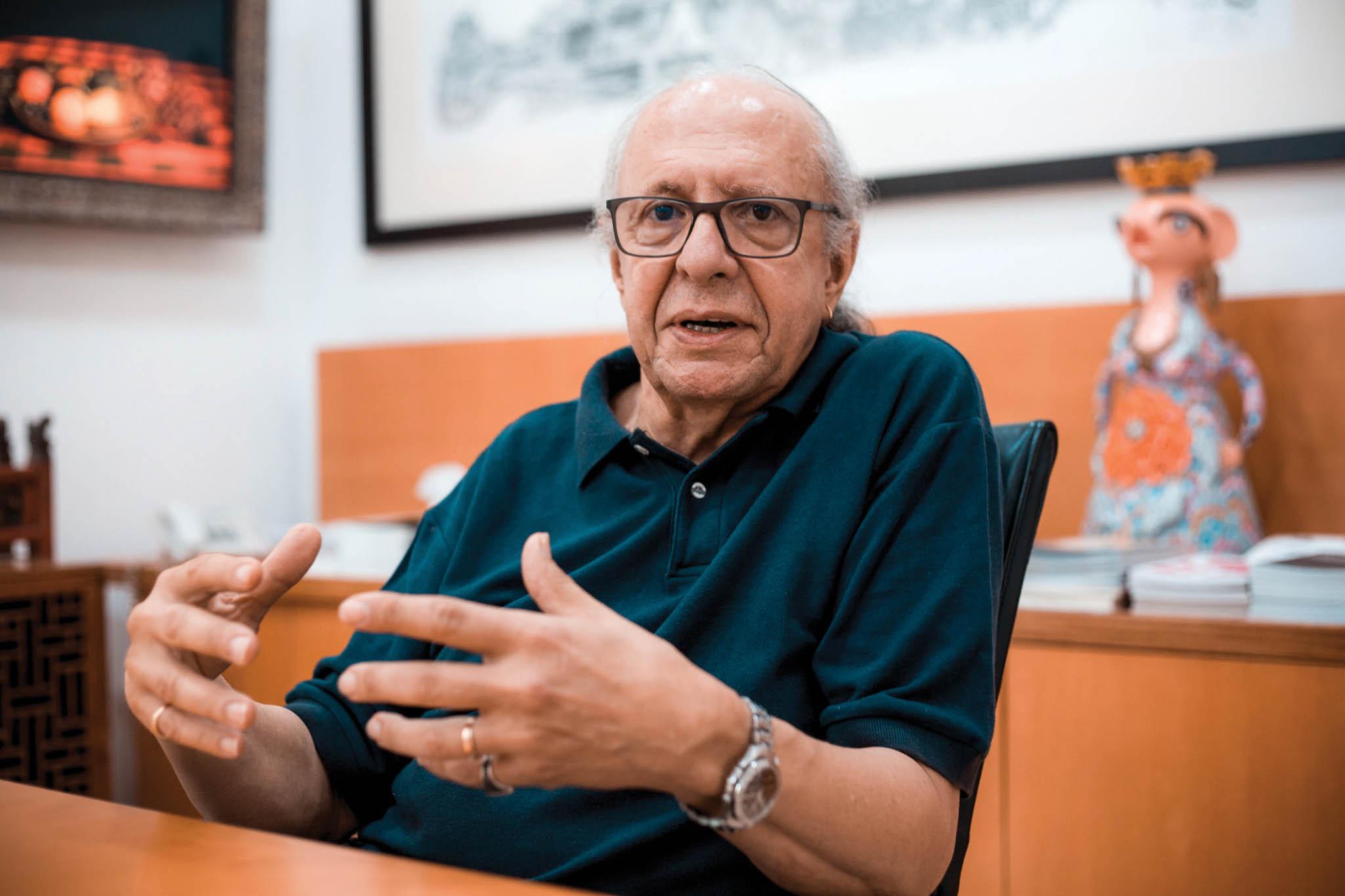 António Leça, escultor |Macau e a sua personalidade