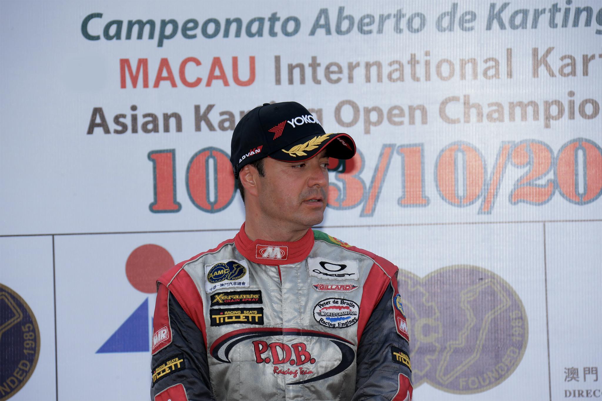 Karting | João Afonso corre a pensar no top três