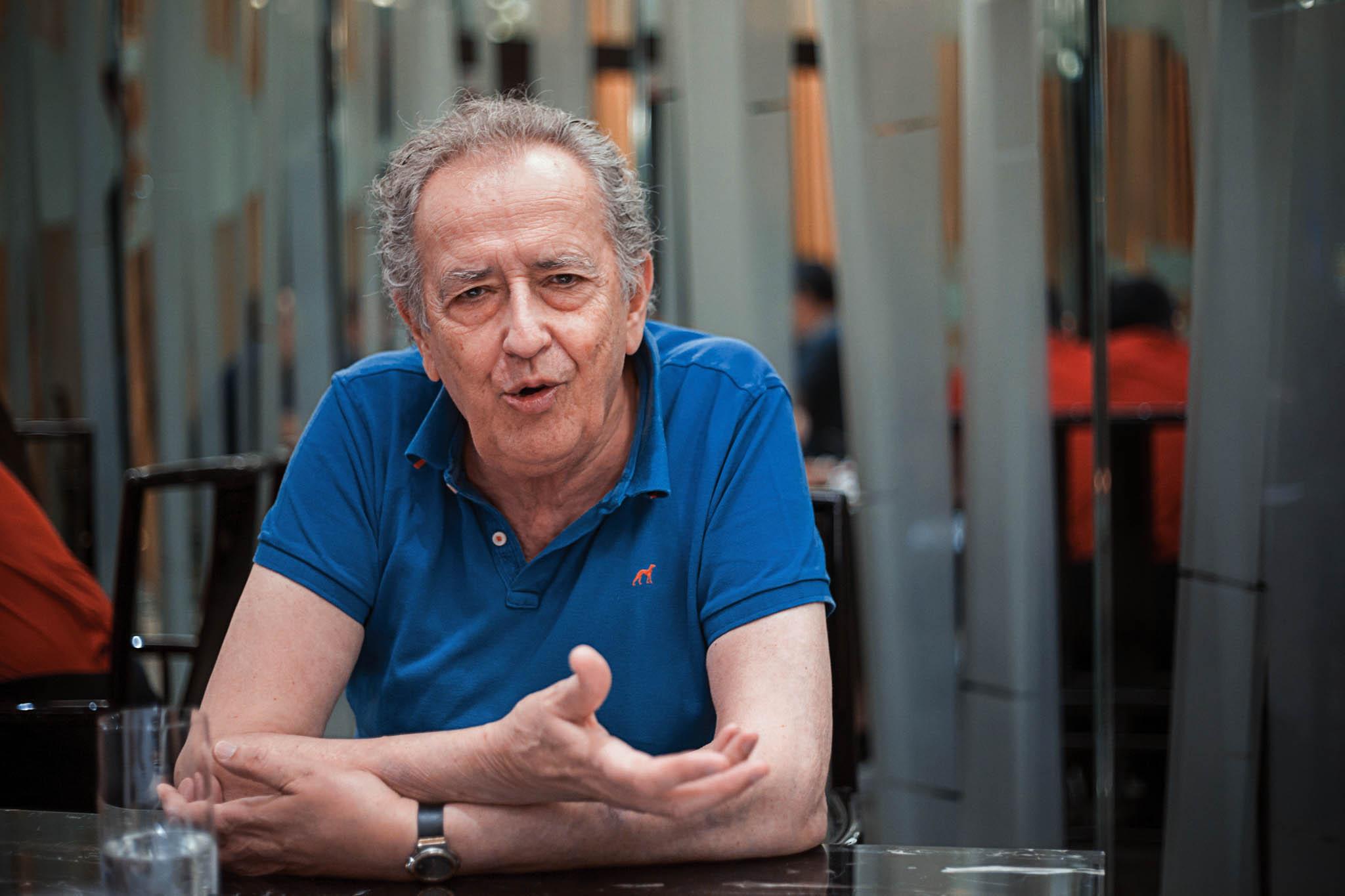 """António-Pedro Vasconcelos, realizador: """"Um bom filme é uma espécie de Juízo Final"""""""