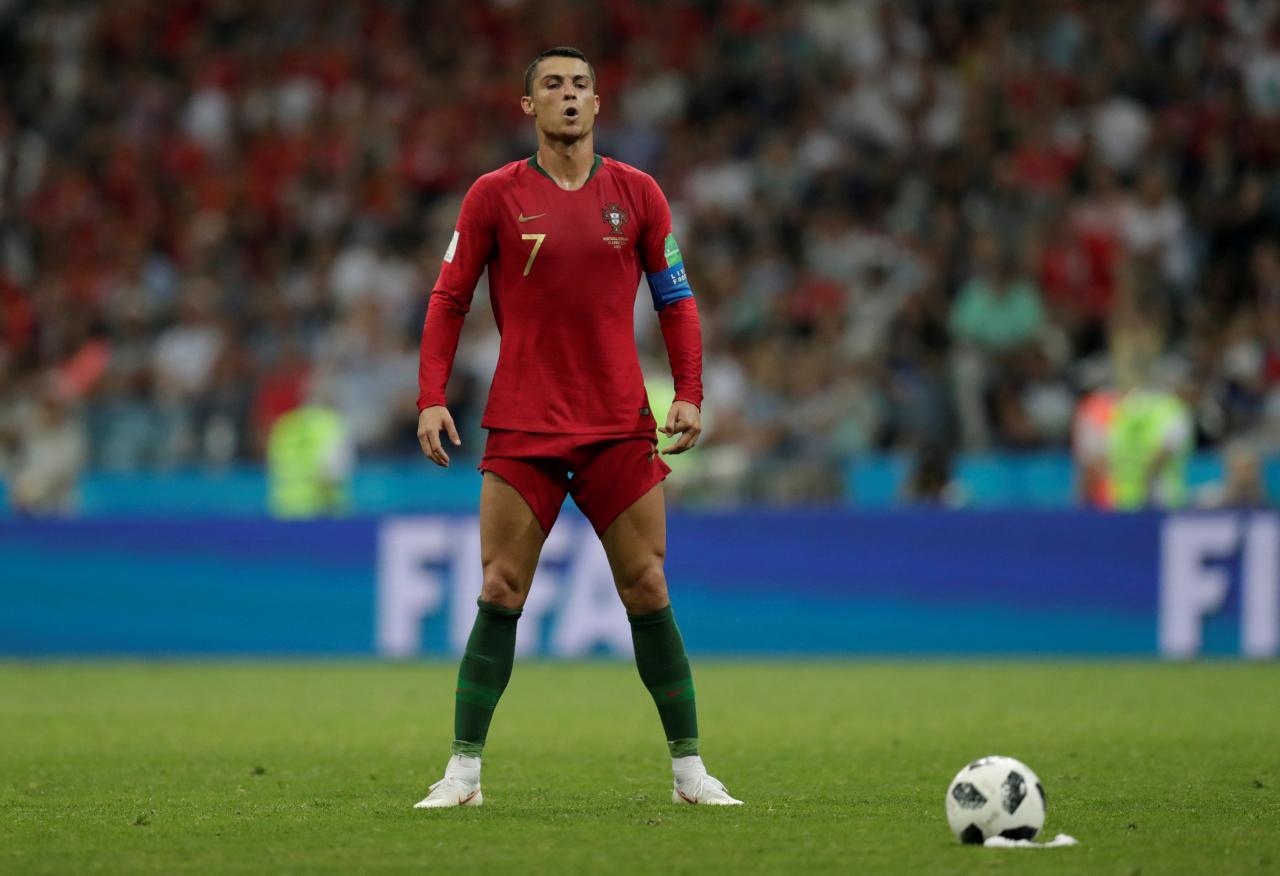 À mesa com Ronaldo