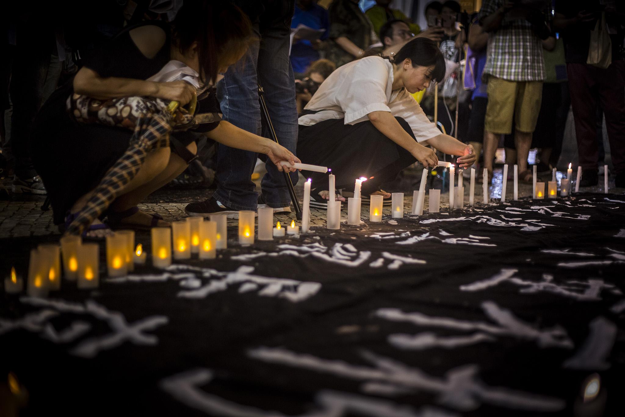"""UE diz esperar que Macau e Hong Kong possam recordar """"livremente"""" massacre de Tiananmen"""