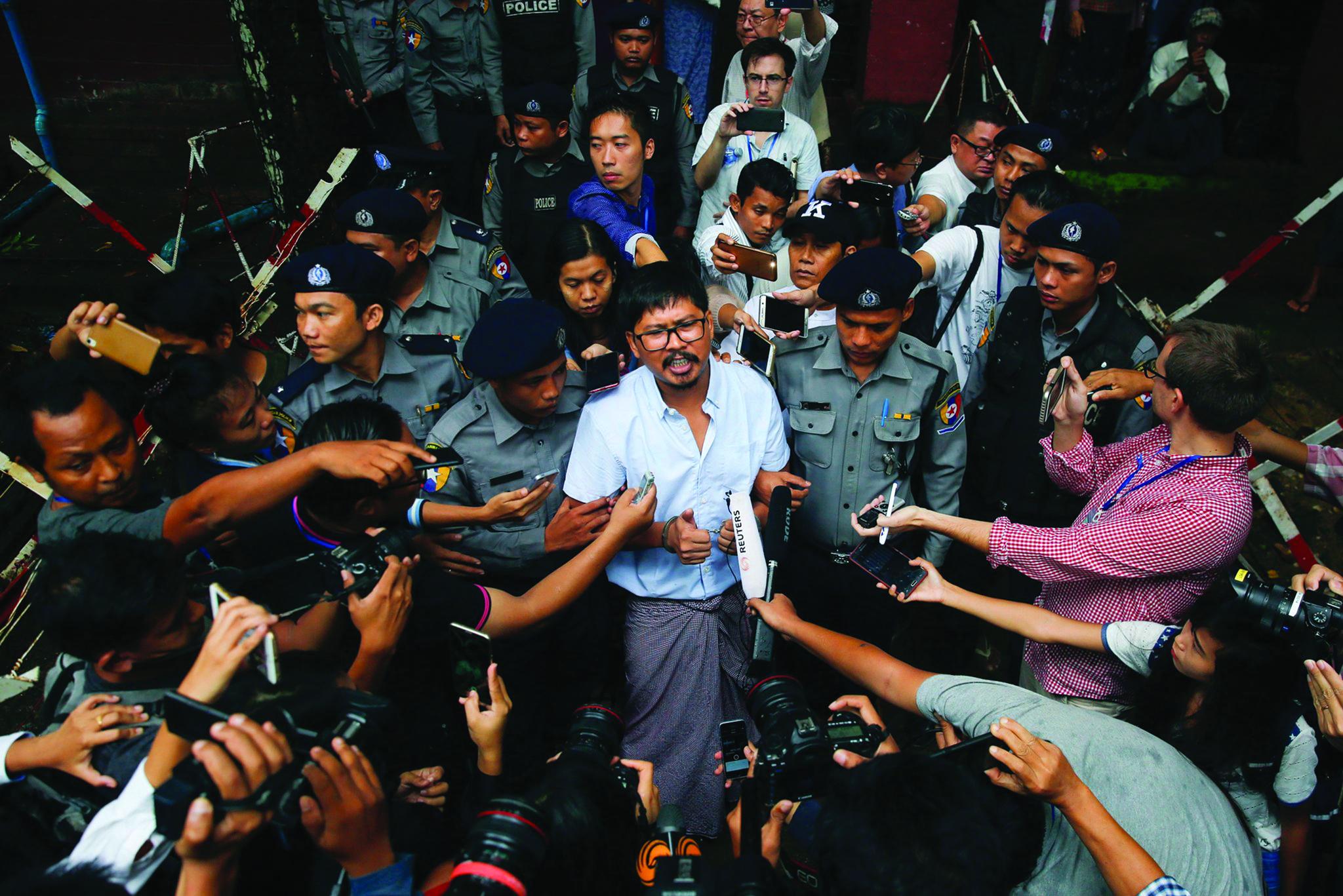 Birmânia mantém julgamento dos dois jornalistas da Reuters