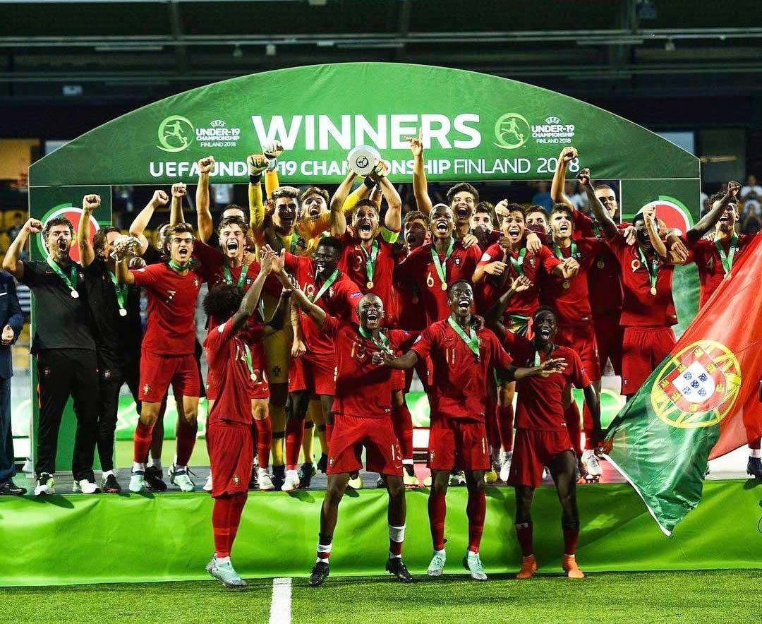 Futebol   Portugal conquista quarto título europeu de sub-19