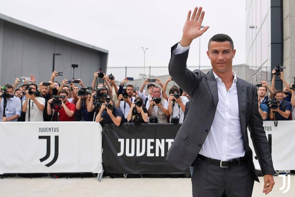 """Cristiano Ronaldo já trabalha """"no duro"""" pela Juventus"""