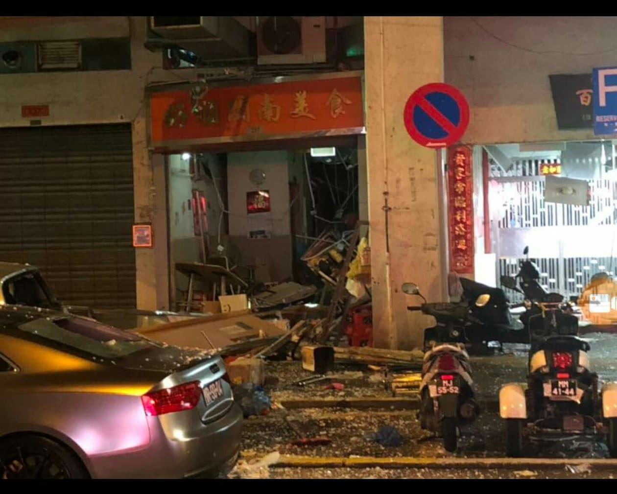 Explosão em restaurante na Areia Preta resulta num morto e seis feridos