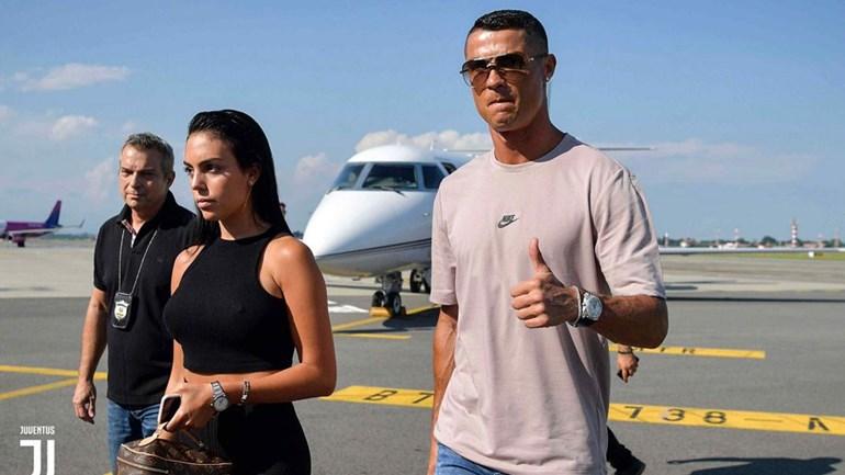 Cristiano Ronaldo chegou a Turim e é apresentado hoje pela Juventus