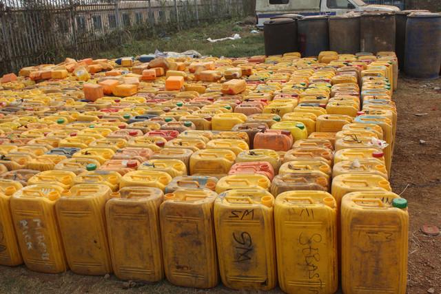 Petição contra armazém de substâncias perigosas entregue hoje