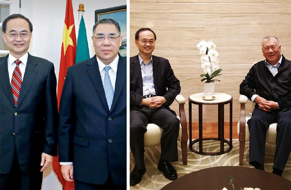 Diplomacia | Comissário do Ministério dos Negócios Estrangeiros da China elogia Macau