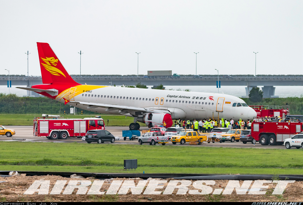 Acidente   Autoridade de Aviação investiga aterragem em Shenzhen
