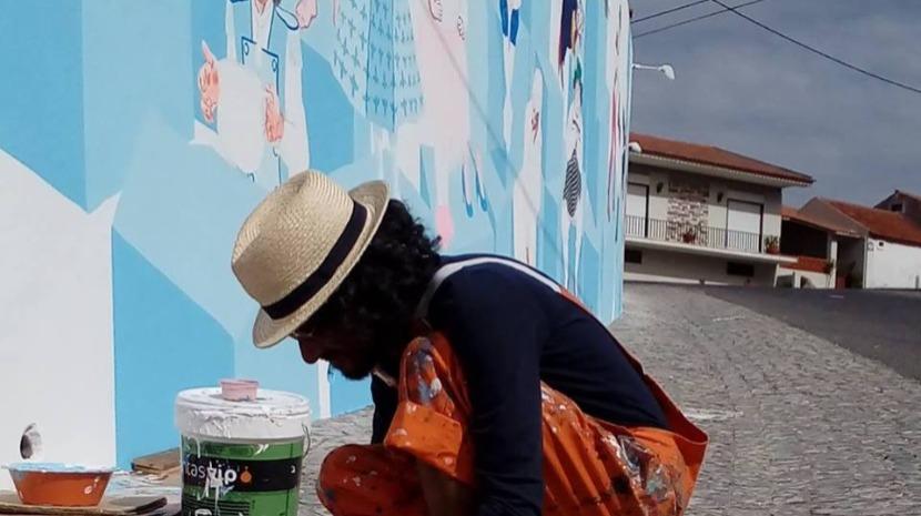 Português entre os artistas do primeiro festival de arte urbana Pow! Wow! na Europa