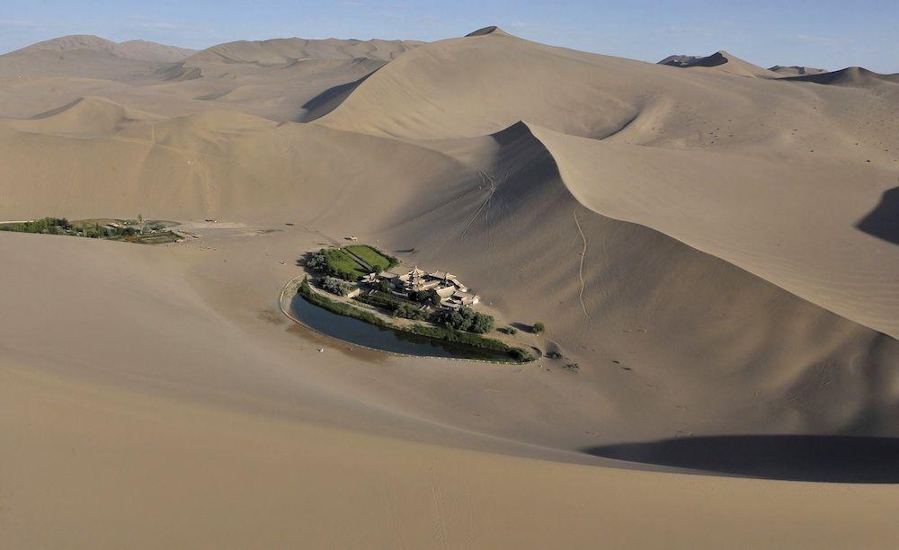 China abre primeiro centro de cultivo espacial para evitar desertificação do Gobi