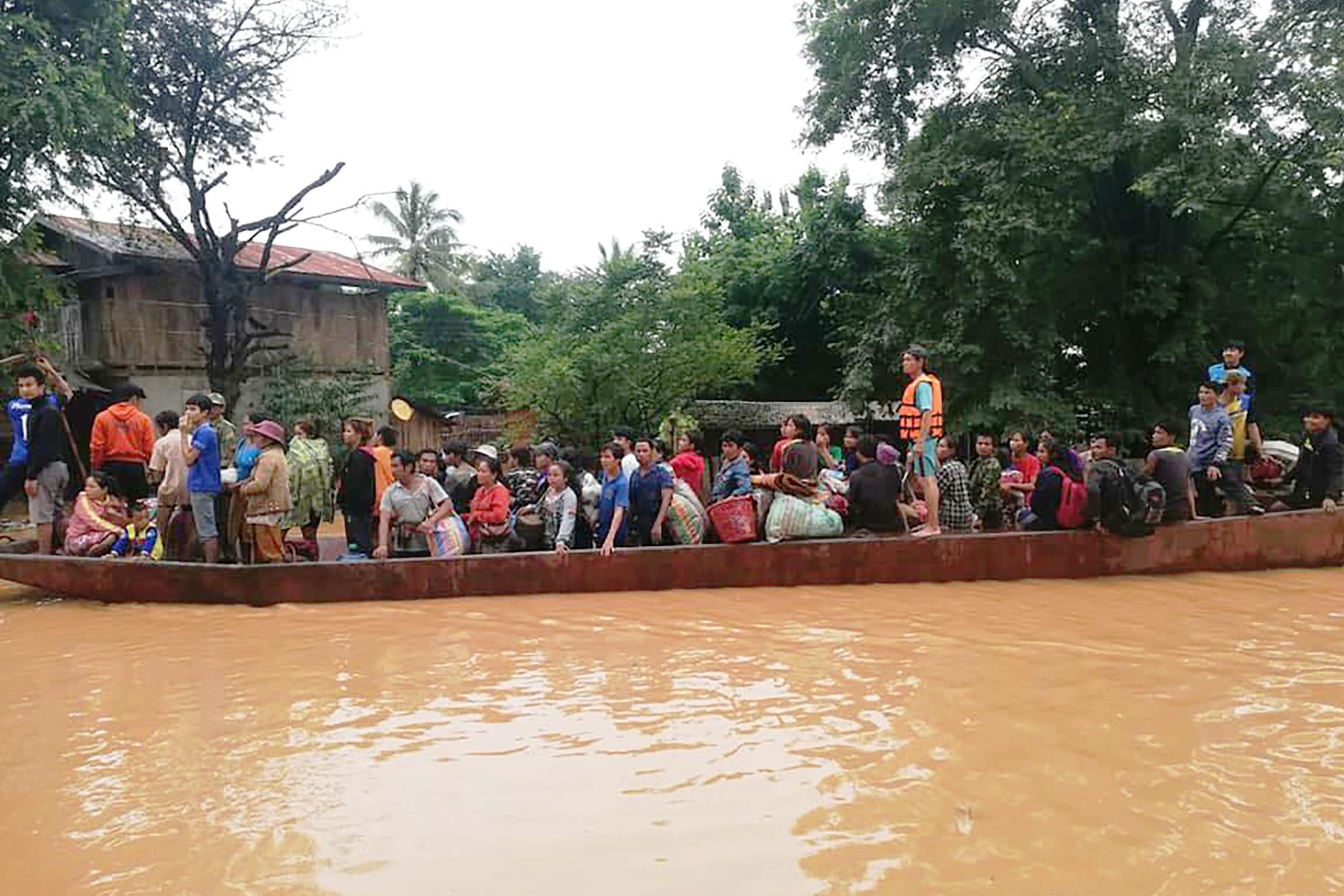 Laos   Balanço oficial aponta para 31 mortos após desmoronamento de barragem