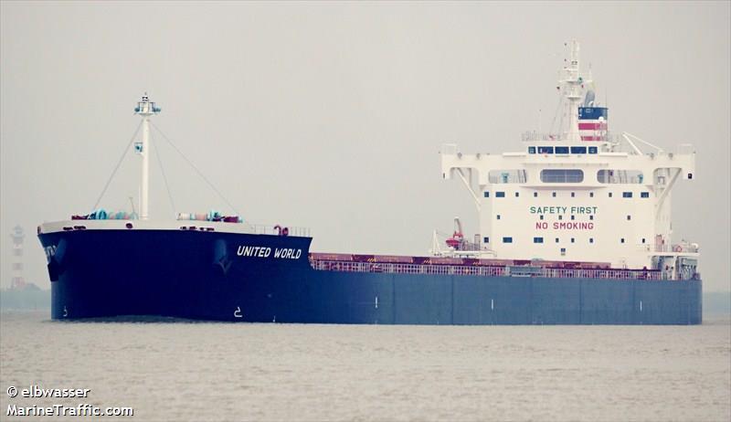 Guerra Comercial   Navio com 70 mil toneladas de soja navega sem rumo