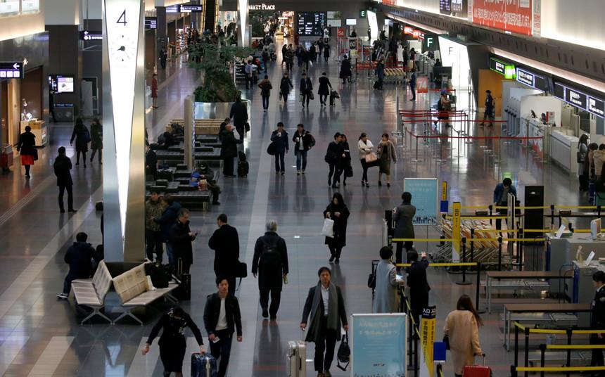 Japão   Dezenas de voos cancelados em Tóquio devido a tufão