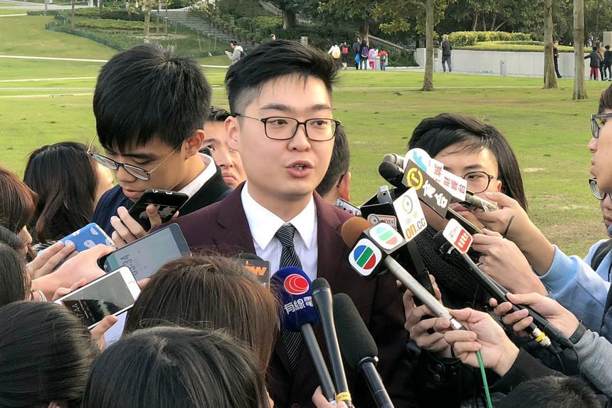 Activista pró-independência discursou em Hong Kong numa palestra que desafiou Pequim