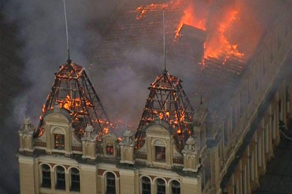 Incêndio no Museu Nacional do Rio de Janeiro destruiu 20 milhões de peças