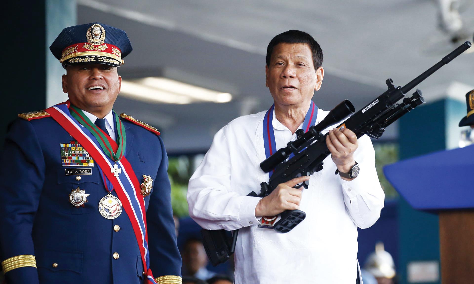 Presidente das Filipinas inicia visita histórica a Israel