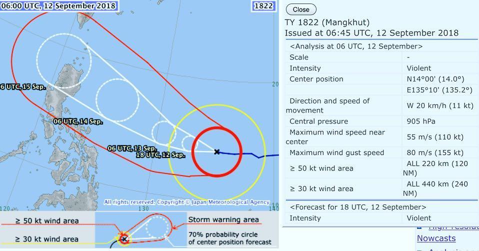 Tufões | Cancelados eventos e lançadas medidas de prevenção