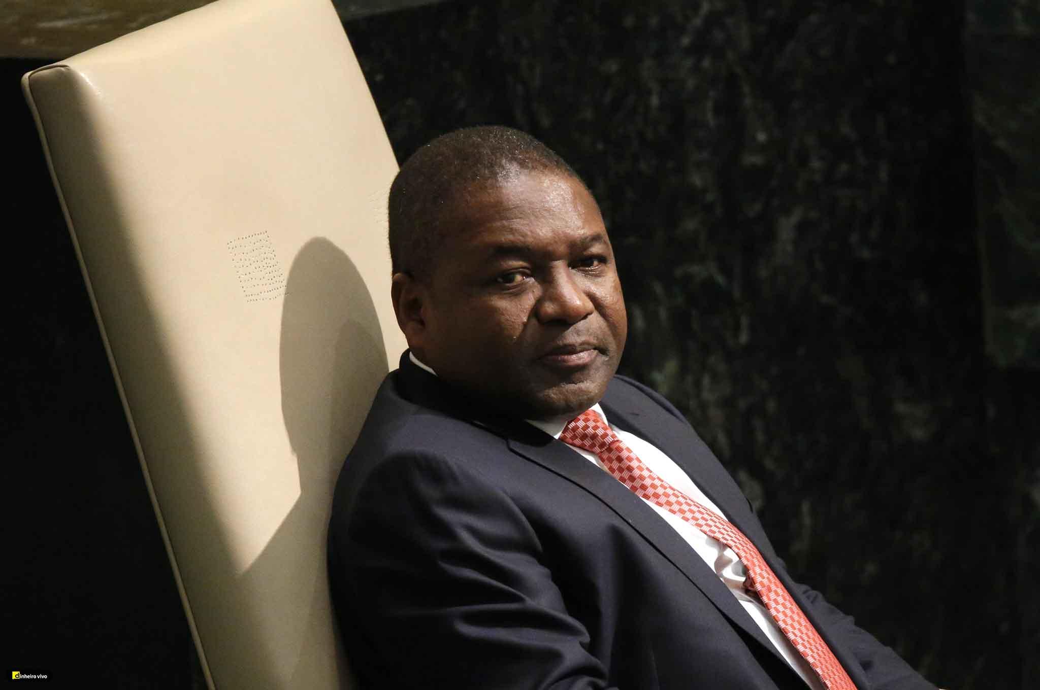 China/África | Presidente de Moçambique almoça com empresários chineses