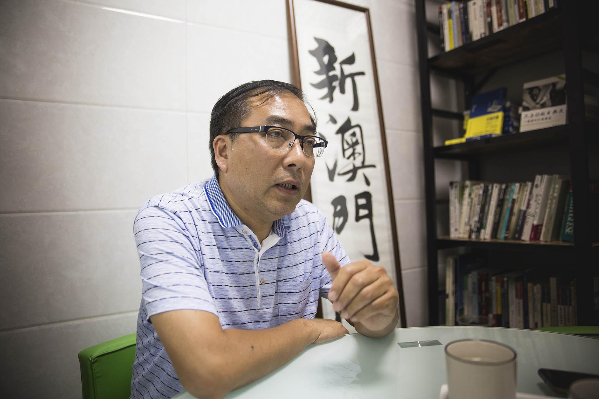 """Paul Chan Wai Chi explica saída da Associação Novo Macau: """"Em 2017 já pensava sair"""""""