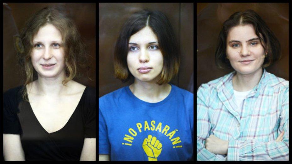 Membro da banda russa Pussy Riot internada por possível envenenamento