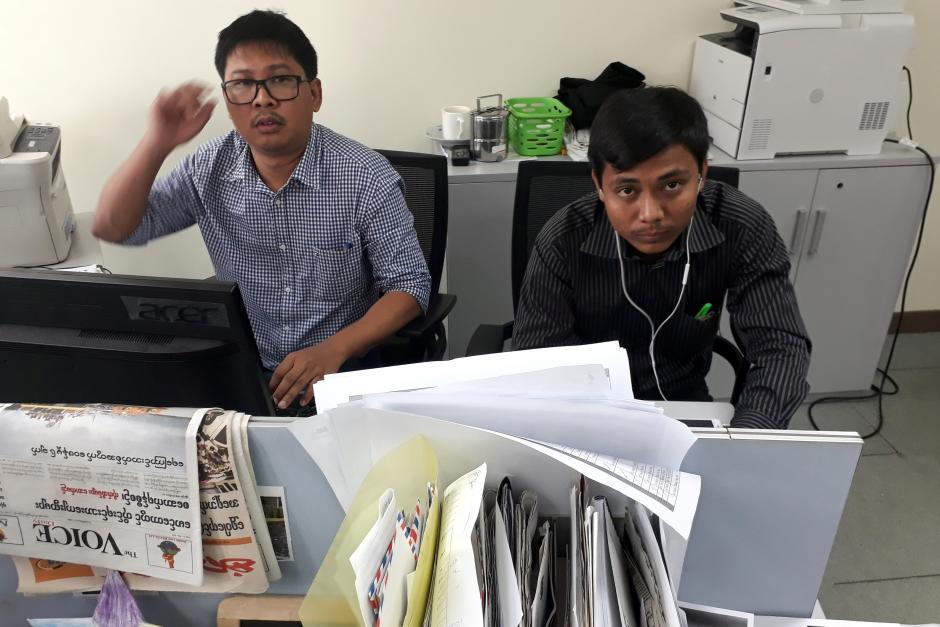 Jornalistas libertados em nome do interesse nacional, diz Governo de Myanmar