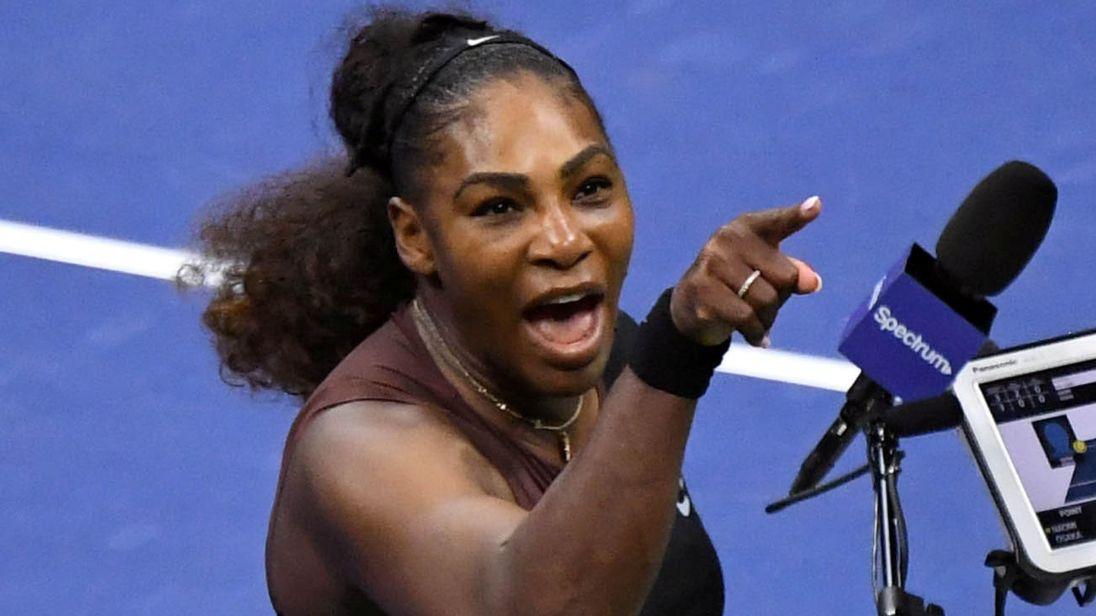 US Open | Serena Williams multada em 17.000 dólares