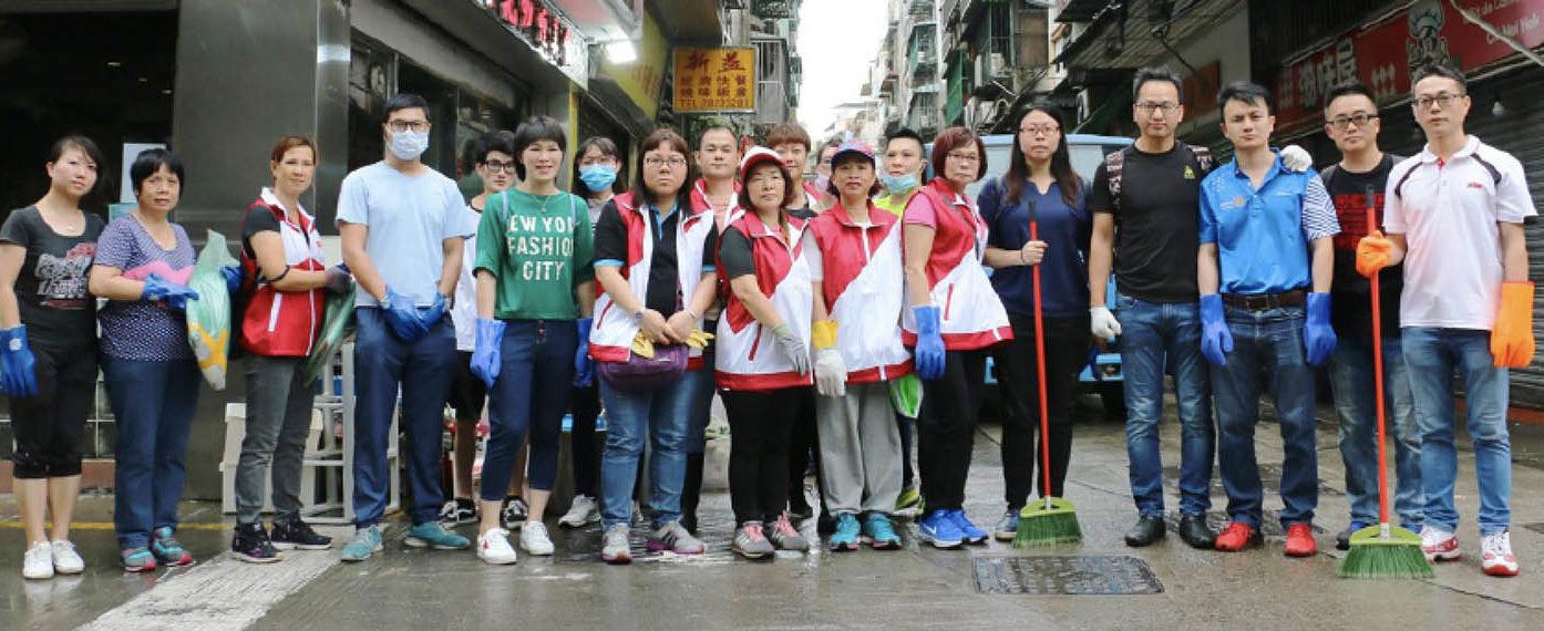 Mangkhut | Deputados divulgaram acções de voluntariado nas redes sociais