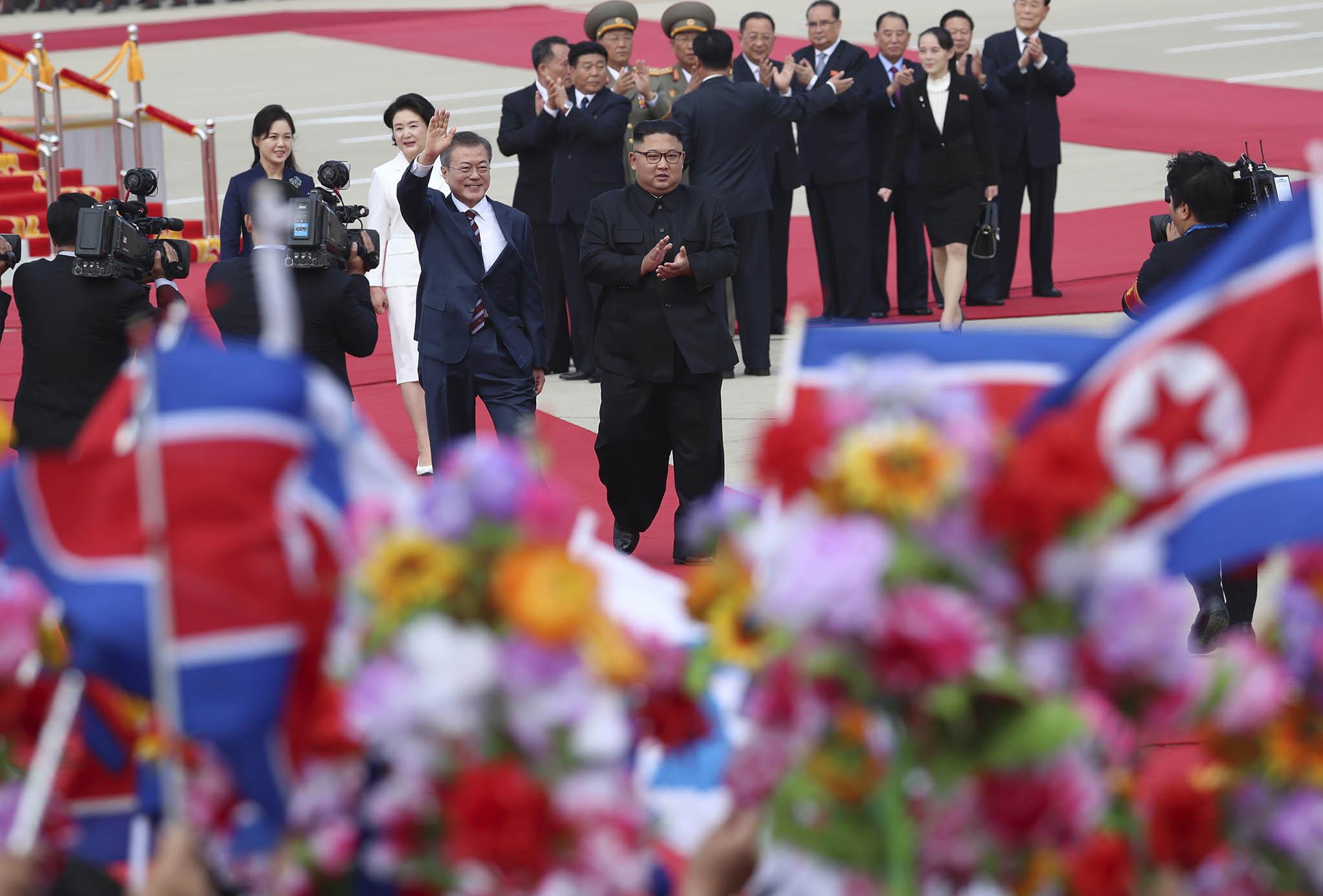 Coreias | Arrancou terceira cimeira para fazer avançar desnuclearização